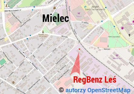 lokalizacja firmy RegBenz Leś Sp. j.